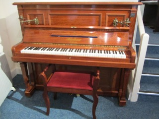 Bluthner Upright Piano For Sale