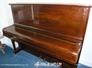 Steinway Model V Upright - Lid Down