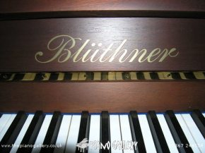 Bluthner Model C Upright - Badge